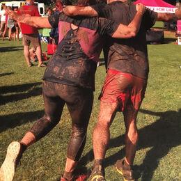 Tough mudder, at the finish
