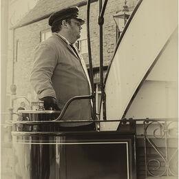 Tram driver-