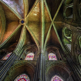 H.C. Vaulted Ceiling. Brian Nattrass. Judge: Albert Wood.