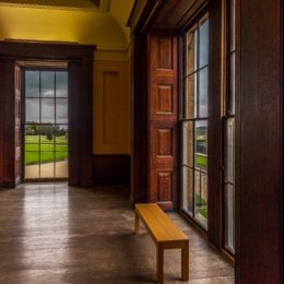 Window Seat Belsay Hall