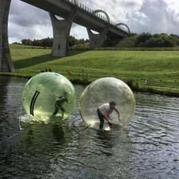 Zorbing together