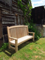 Large Oak Bench