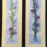 "Snowdrops and Bluebells Size 7"" x 2"""