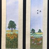 "Sunflower field and Meadow Size 7"" x 2"""