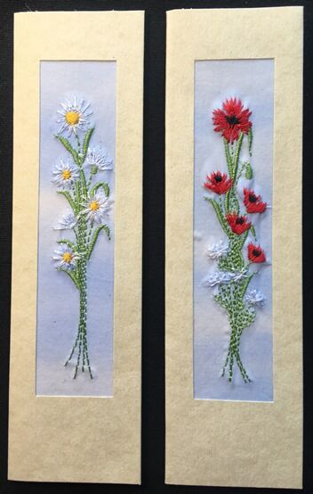 """Daisies and Poppies Size 7"""" x 2"""""""