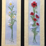 "Daisies and Poppies Size 7"" x 2"""