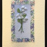 Lily of the Valley with Liberty print border
