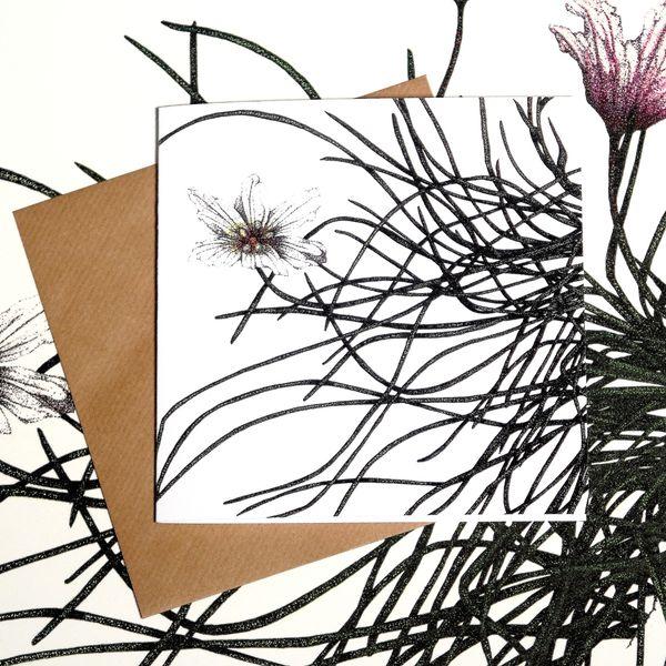 Greeting card - Snowdon Lily