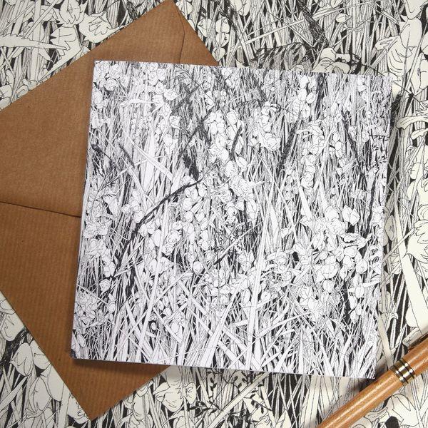 Greeting card - Hay Meadow