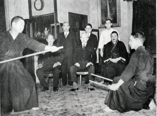 Young Shimizu & Otofuji Sensei's demonstrating early 1940's