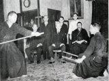 Young Shimizu & Otofuji Sensei's demonstrating early 1940's