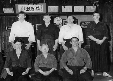 Shimizu Sensei and group circa 1970