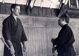 Shimizu Sensei with Draeger Sensei
