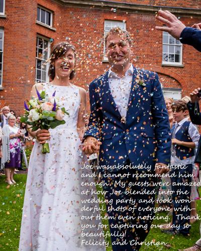 Testimonials - Salisbury Wedding Photographer