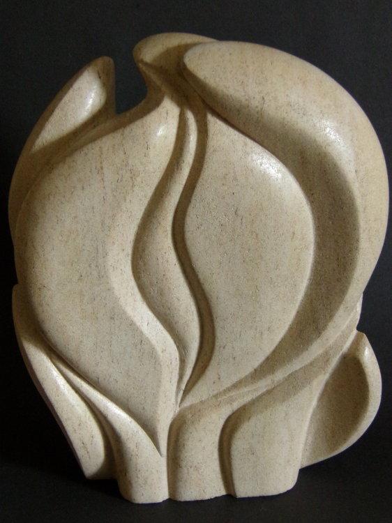 Circular Form Ancaster Limestone - Sold