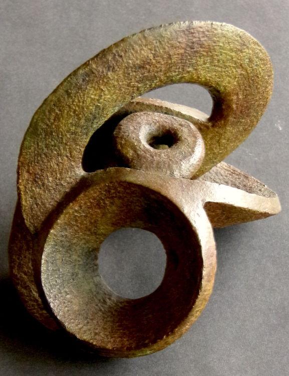 Opposing Circles - Bronze