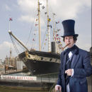 Isambard Kingdom Brunel visits the s.s.Great Britain!