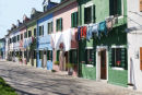 Washday in Burano