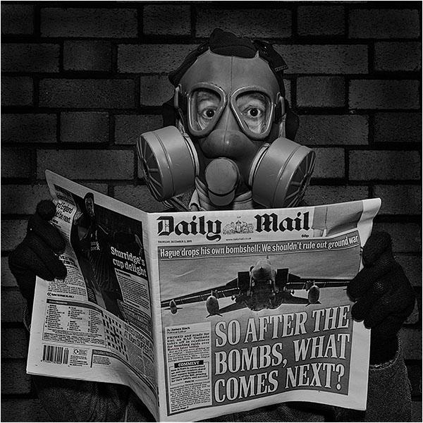 Be afraid, very afraid....... of tabloids and politicians