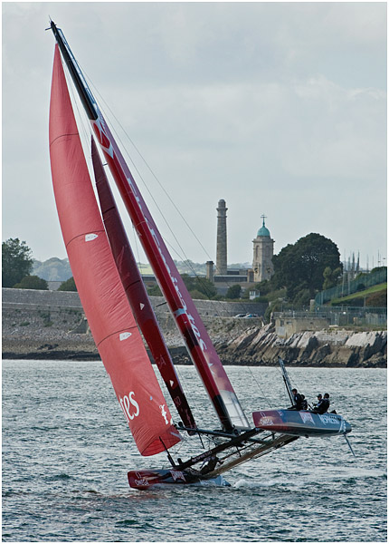 America's Cup - Fly Emerites