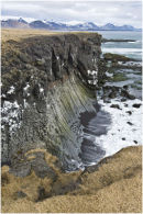 Basalt cliffs at Arnarstapi - Iceland