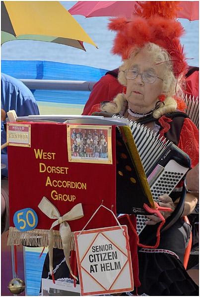 Cynthia at Sidmouth Folk Festival