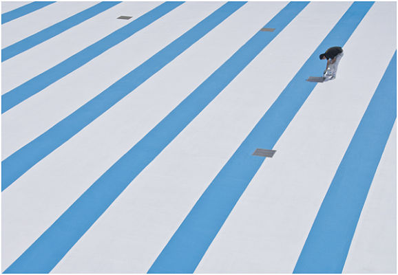 Painting the pool - Tinside