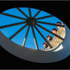 Skylight & chimney pots - The Music Room