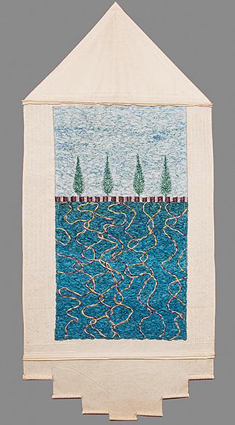 Swimming pool (after David Hockney)