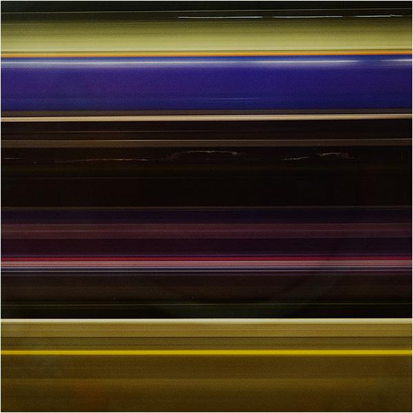 GWR rail lines - passing night train