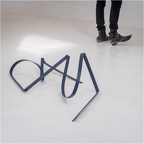 Toe curling sculpture