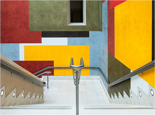 'Stair-lift' in Tate Britain
