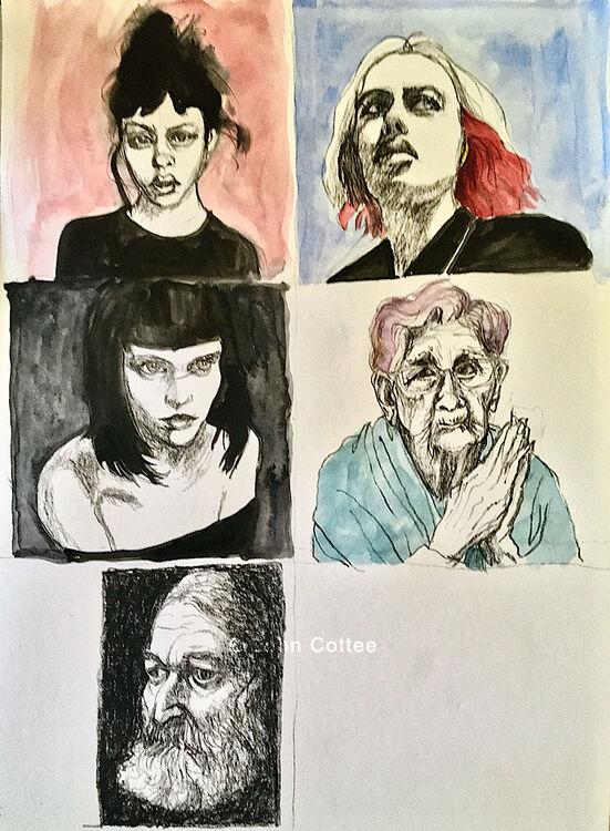 50faces/10days#5