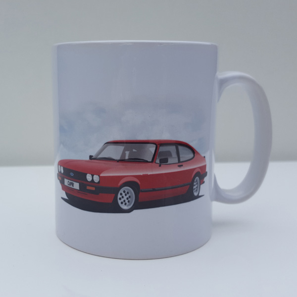 Capri mk3 2.8 injection Red 11oz Mug
