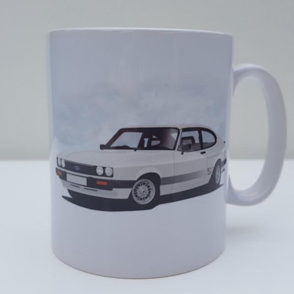 Capri Mk3 S white 11oz Mug