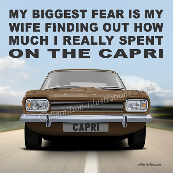 Capri Mk1 Wife Brown WF132