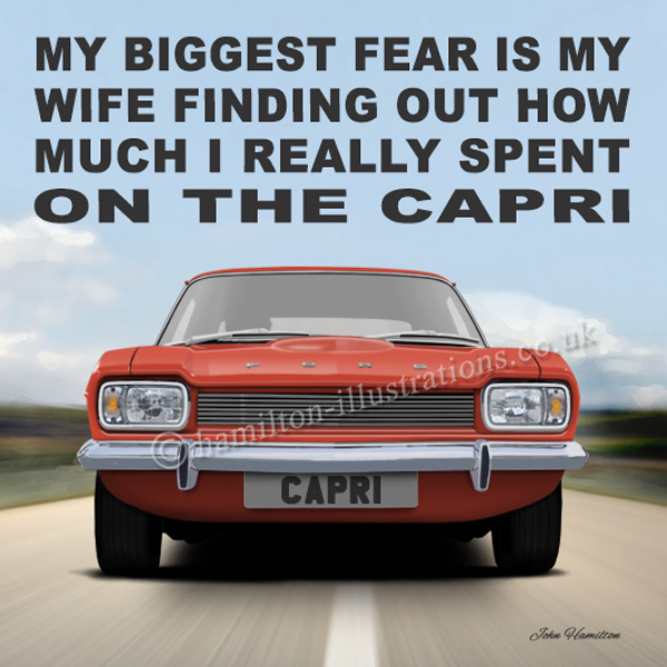 Capri Mk1 Wife Red WF131