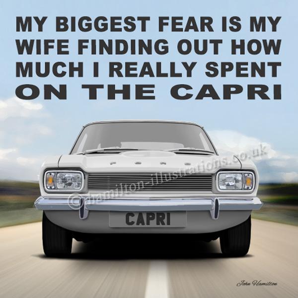 Capri Mk1 Wife White WF133