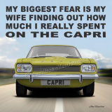 Capri Mk1 Wife Yellow WF133
