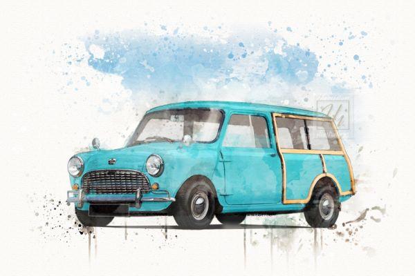 Mini Traveller Blue