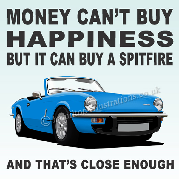 Spitfire Happiness Blue CT202