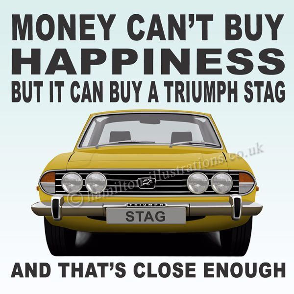 Stag Happiness Yellow HT101
