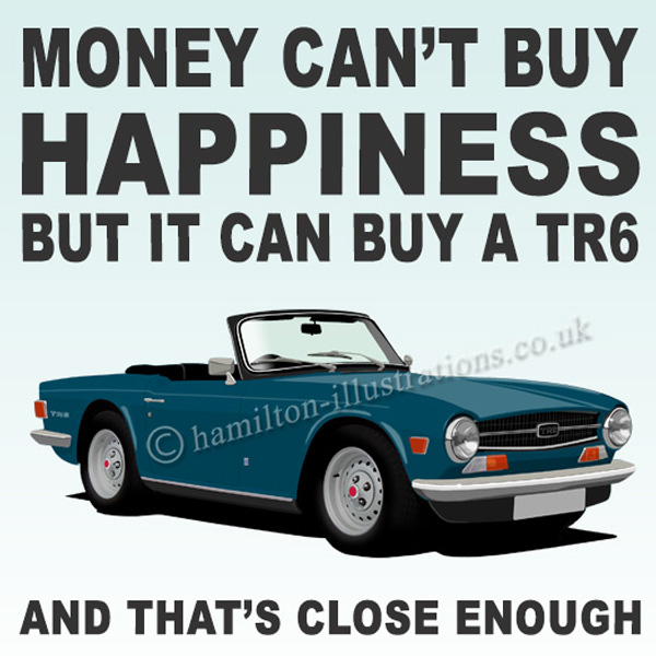 TR6 Dk Blue Happiness HT422