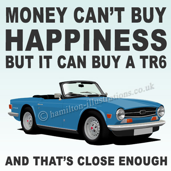 TR6 LIGHT BLUE Happiness HT425