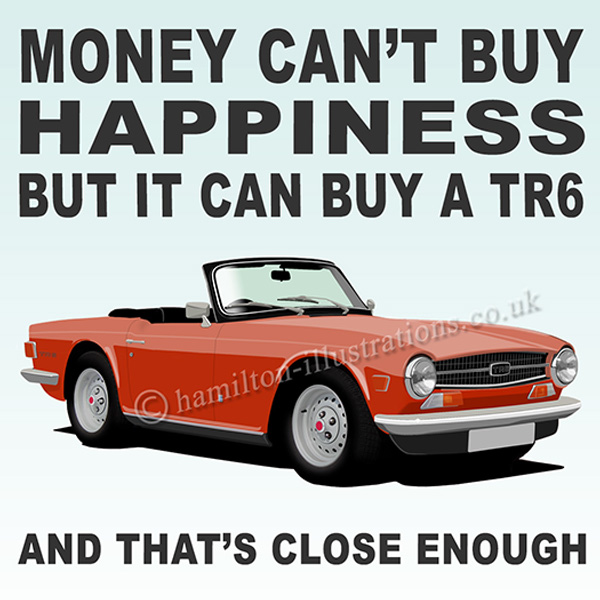 TR6 RED Happiness  HT424