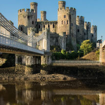 Conwy Castle Reflection