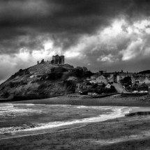 Stormy Criccieth Castle