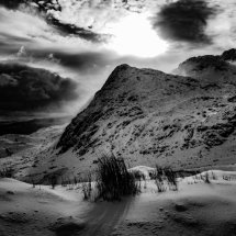 The Moelwyns in Winter
