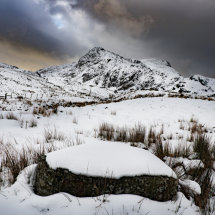 Snow on the Moelwyns