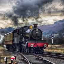 Foxcote Manor at the Llangollen Railway